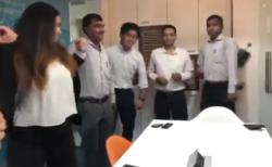 「ええっ!オフィスで踊っちゃうの!?」インドの会社がノリノリすぎる!