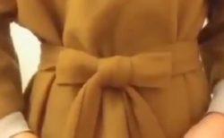 【ファッション】シンプルで綺麗なリボンの結び方が話題に。これは誰かに教えたくなる!!