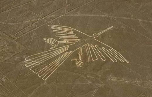 【これは芸術】ナスカの地上絵が蚊取り線香に