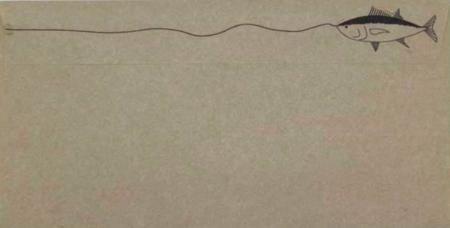 【話題】「これは開けたくなる」釣り好きのための封筒がとってもオシャレ ネット民から大反響