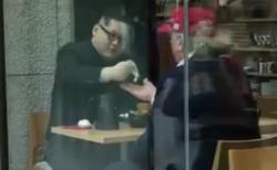 【銀座で米朝首脳会談】金正恩とトランプ大統領がティータイムを嗜む