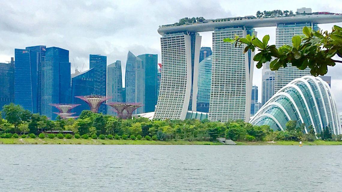 【壮大】シンガポール空港よ、美しすぎて現実感が薄いぞ。一度は行ってみたい!