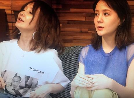 テレビでYOUさんが着てるTシャツ「よく見ると浜ちゃん!」ネット騒然