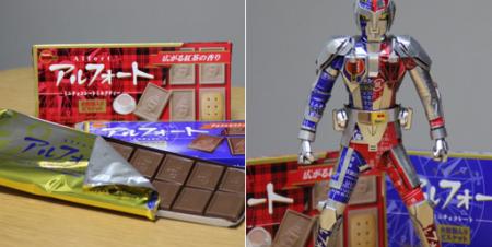 【話題】歯医者さんがお菓子の空箱で作ったヒーローが凄すぎる!