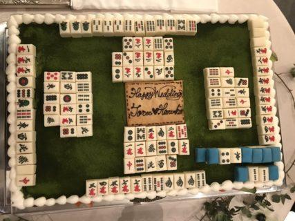 切るに切れない麻雀ケーキが話題に、これは詰んだ!