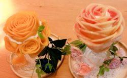 「口にいれた瞬間溶ける、まるで飲み物」美しすぎる桃パフェが話題に