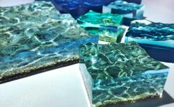 【美ら海オブジェ】「美しい!」手のひらサイズの美ら海を作った芸術家が凄すぎる!ネット民感激!