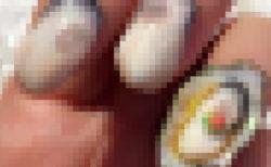 リアルに再現された『牡蠣ネイル』が凄い!「美味しそう」「紅葉おろしがキュート♥️」