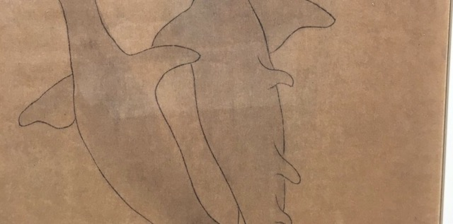 江戸時代中期にかかれた『シュモクザメの絵』が可愛い!