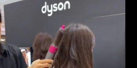 ダイソンの高級カールドライヤーが話題。髪がくるくる勝手に巻きつき、簡単に美カール完成!