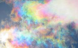 【彩雲】この世にはこんな綺麗な「空」があったのか。いつか生で見てみたい!