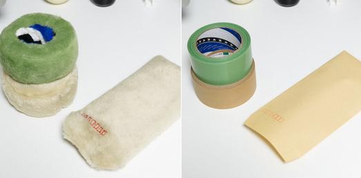 なんだこれは笑 養生テープ、ガムテープ、封筒のぬいぐるみがシュールすぎる!