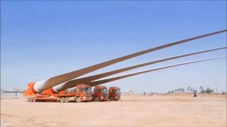 【スレスレ】風車の運搬作業がとんでもなく大変だった!