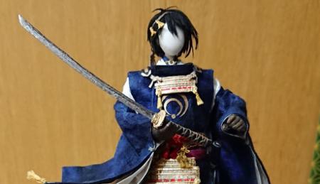 【日本の芸術】和紙人形の師範が作った刀剣乱舞の三日月宗近がクオリティ高すぎて感動!