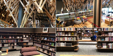 山奥にある「雲の上の図書館」、控えめに言って最高だった。ゆっくり過ごしたい