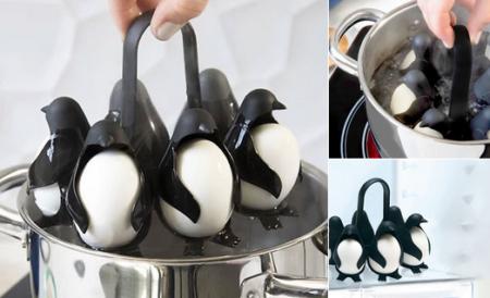 【かわいい】ペンギン型「ゆで卵製造機」が話題! これは便利そう!