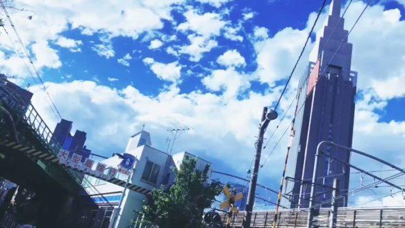 【話題】ええっ!これアニメのワンシーンじゃないの!? 『新海っぽい』『RADWIMPSが聞こえてくる』