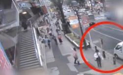 【?!】渋谷道玄坂のライブカメラにとんでもない物が映り込みネット騒然!!!