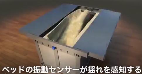 【全自動】地震時に「シェルター」に変身するベッドが話題に。どうなんだこれは!