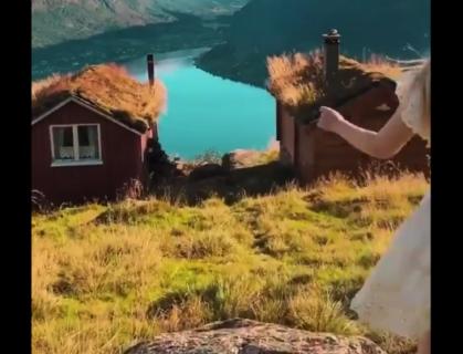 """【まるでRPG】ノルウェーの """"街並み"""" が美しすぎる。一度は行ってみたい!"""
