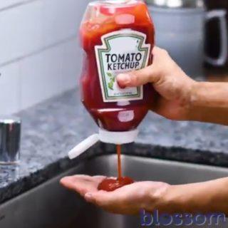【動画】トマトケチャップでキレイになる! これは凄いね!