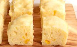【材料3つだけ!】コーンクリーム蒸しパンがめちゃくちゃ美味しそう! 是非つくってみたい!
