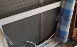 【台風】雨戸を閉めても窓ガラスが割れる異常事態!!