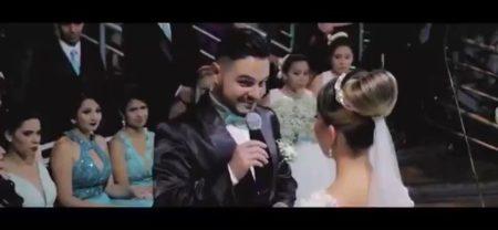 【動画】シングルマザーの女性と結婚する男性が子どもに向けた誓いの言葉が感動的だと話題に