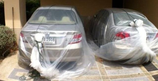 【画期的】大水から車を物理的に守る!東南アジアのやり方がすごいと話題に