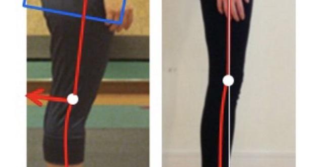 【美脚】脚が細い人と太い人、立ち方を見ると納得!めちゃ重要なのは姿勢!つっぱり膝に注意しよう!