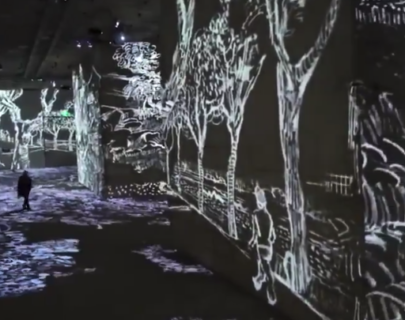 【アート】パリなどで開催されている「デジタル・ゴッホ美術展」が素晴らしすぎる!