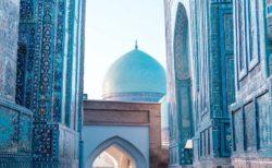 【必見!】ウズベキスタンの「青の都」が美しすぎる