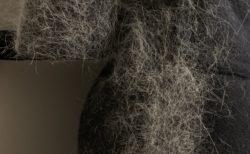 【猫】職人の手によって「圧縮猫毛100%」となったコートをご覧ください!