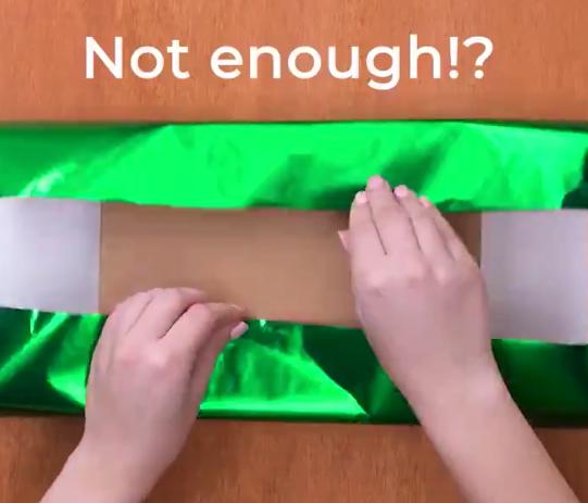 【参考】基本的なラッピングの方法を紹介する動画。これからのシーズンにぴったり!
