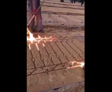 【驚愕】鉄の「フェンス」の作り方が意外すぎる。こうやって作ってるのか!