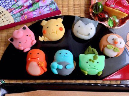 【画像】『ポケモン和菓子』が可愛すぎる! ネット民大感激