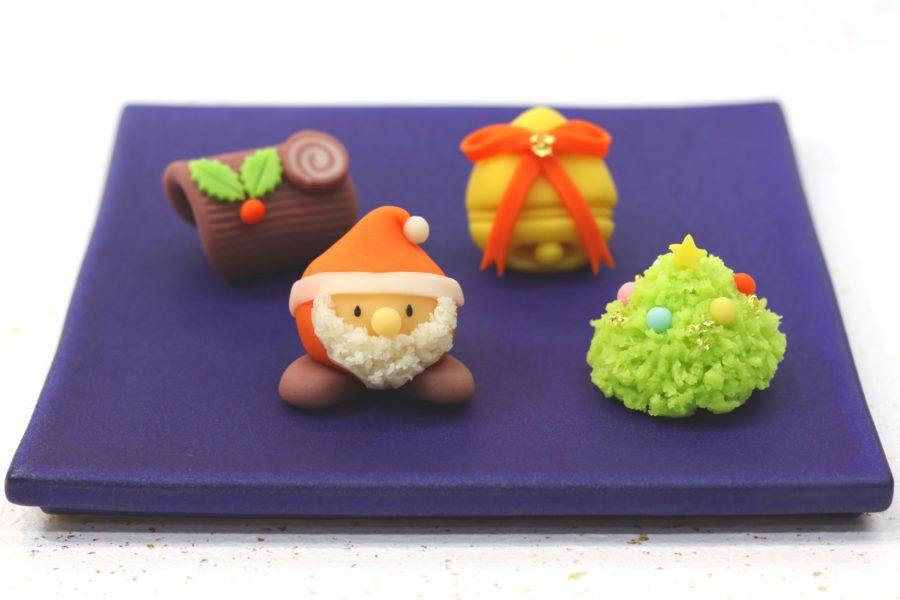【ケーキじゃない】クリスマス和菓子が可愛らしい