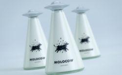 【牛乳嫌いでも飲みたくなる!?】おしゃれな牛乳瓶「Molocow」がネットで話題