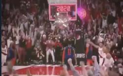 【スポーツ】バスケットボール「2020年になった瞬間」のゴールが感動的!