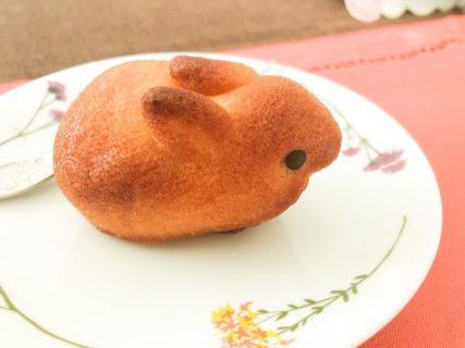 【菓子】焼きうさぎフィナンシェという「お菓子」がとっても可愛い。食べるのがもったいない!