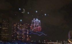【ドローン】各国のドローンによる夜景演出。花火を超えるか?!と話題
