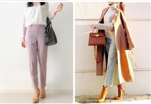 【着痩せ】ユニクロの美脚パンツが最高と話題「足細く見えて腰は華奢に見える!」「形くずれしなくて感動」