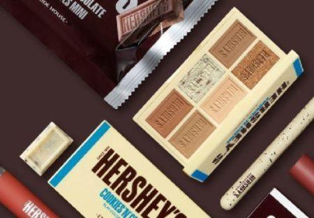 【コスメ】エチュードハウス、今度は「HERSHEY'S」とコラボ『ハーシーコレクション』チョコの色&香り、期間限定発売!