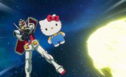 【動画】キティちゃん、ガンダムとコラボしていた笑