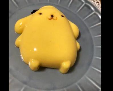 【お菓子】これぞまさに「ポムポムプリン」ぷるんぷるんですね!