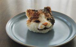 【食べ物】リアルな「猫おにぎり」が凄すぎて食べられない!