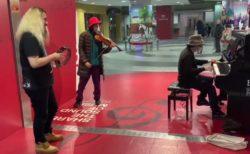 【衝撃映像】タンバリンとXJAPANの「紅」を演奏した結果