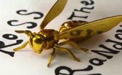 【芸術】金属で作った「スズメバチ」が美しすぎる。お金出してでも買いたい!