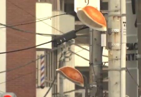 【ほのぼの】宇都宮市に設置された「ギョーザ型の街灯」が話題