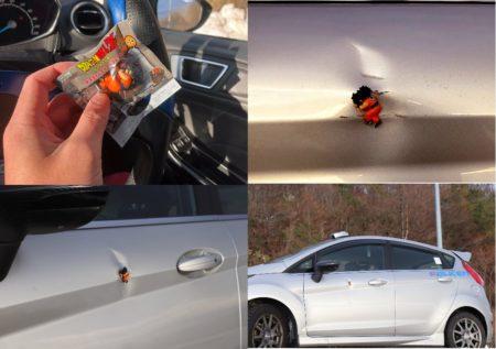 【修理】「車の凹みを最安で修正する方法」が面白すぎる。ヤムチャ!